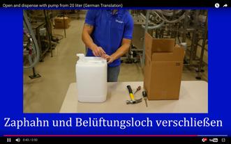 Wie Sie Einen 20 Liter Behälter Öffnen